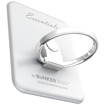 Bunker Ring Essentials Matte Silver UDBREMS003