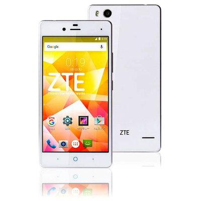 ZTE アンドロイドスマートフォン BLADE E01 ホワイト