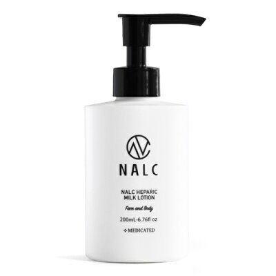 nalc ナルク 薬用ヘパリンミルクローション 乳液  顔&からだ用