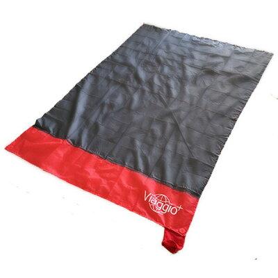コンパクト レジャーシート ポケット 約160×110cm