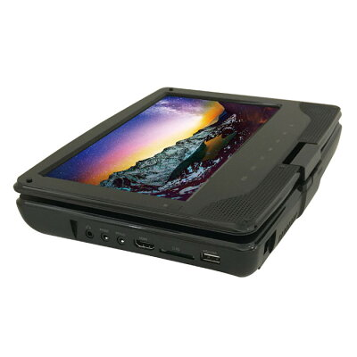 9インチ ポータブルブルーレイプレーヤー 内蔵バッテリー APB-0902(1台入)