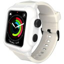 ROOX YHDIPCW4S-WH Apple Watch Series 4 40mm 防塵防水ケース ホワイト