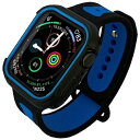 ROOX JGWSP2W5L0-BL ツートーン・スポーツ for Apple Watch 4&5 44mm ブルー