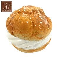 Cafe de N ぷにぷにマスコット ジャンボシュークリーム ミルク squishy スクイーズ squeeze