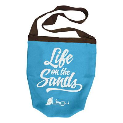 ラグ Lagu ビーチバッグ Beach-Friendly Bag チェレステ klg0202