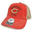 広島カープ グッズ キャップ/帽子 レッド 47ブランド/47 Brand Big Sur Cap