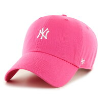 New York Yankees Centerfield '47 Clean Up Cap マゼンタ