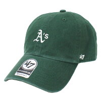 47BRAND / フォーティセブン ブランド ATHLETICS BASE RUNNER 47 CLEAN UP CAP