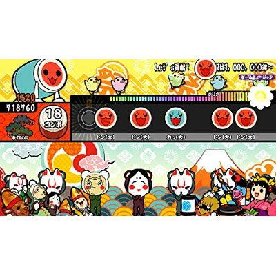 太鼓の達人 Vバージョン(Welcome Price!!)/Vita/VLJS00145/A 全年齢対象