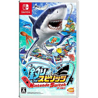 釣りスピリッツ Nintendo Switchバージョン/Switch/HACPAS4HA/A 全年齢対象