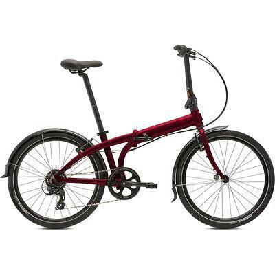 """ターン tern Node C8 24"""" 8speed Dark Red/Red アルミフレーム 折りたたみ自転車 USP-105435"""
