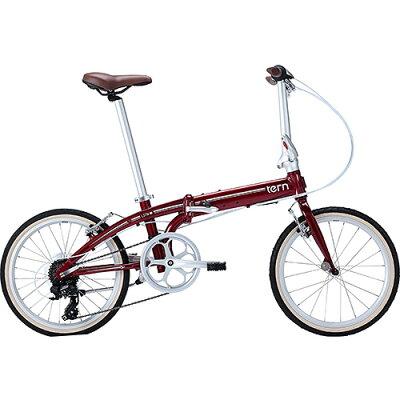 tern ターンLINK C8 20インチ 8段変速 BORDEAUX/WHITE 折りたたみ自転車 BKAKB