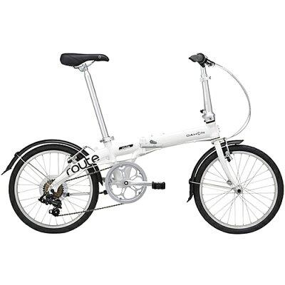 DAHON 20型 折りたたみ自転車 Route クラウドホワイト/外装7段変速
