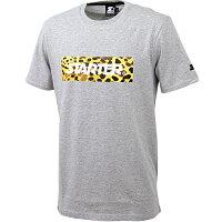スターター STARTER jeff PRINT T-SHIRT Tシャツ GRAY ST1602225
