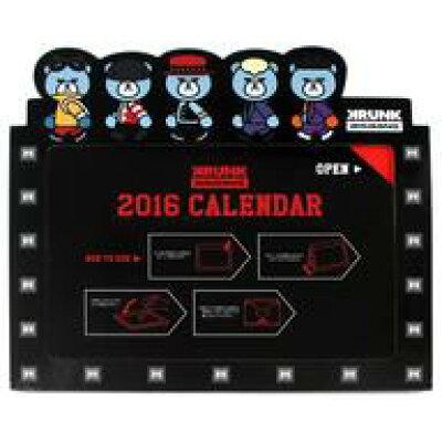 BIGBANG Korea ビッグバン / KRUNK×BIGBANG 卓上カレンダー2016