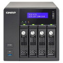 QNAP Systems Inc. TV4714SV60 TVS-471 24TB HDD搭載モデル サーベイランス 6TB x 4