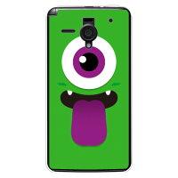 YESNO ひとつめくん グリーン クリア / for AQUOS PHONE Xx 206SH/SoftBank SSH206-PCCL-201-N228