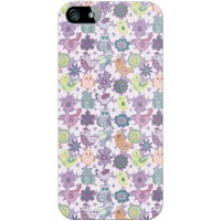 Coverfull バラエティバード パープル produced by COLOR STAGE / for iPhone 5/SoftBank SAPIP5-ABWH-151-MBU9