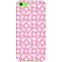 Coverfull フラワーリング ピンク produced by COLOR STAGE / for iPhone 5c/SoftBank SAPI5C-ABWH-151-MBF2