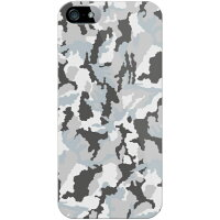 Coverfull 迷彩 グレー produced by COLOR STAGE / for iPhone 5s/SoftBank SAPI5S-ABWH-151-MBN8