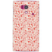 Coverfull Lovekiss レッド produced by COLOR STAGE / for AQUOS PHONE si SH-01E/docomo DSHA1E-ABWH-151-MBB1
