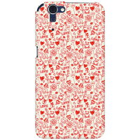 Coverfull Lovekiss レッド produced by COLOR STAGE / for AQUOS PHONE ZETA SH-01F/docomo DSH01F-ABWH-151-MBB1