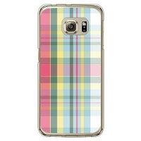 SECOND SKIN madras 04 クリア / for Galaxy S6 edge SC-04G/docomo DSC04G-PCCL-298-Y713