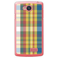 SECOND SKIN madras 06 クリア / for Spray 402LG/Y!mobile YLG402-PCCL-298-Y715