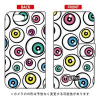 YESNO 手帳型スマートフォンケース アイズ ホワイト / for Xperia Z1 f SO-02F/docomo DSO02F-IJTC-401-N262