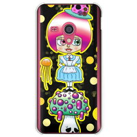 SECOND SKIN 毒キノ子 クリア design by 326 / for AQUOS PHONE EX SH-02F/docomo DSH02F-PCCL-326-Y742