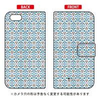 SECOND SKIN 手帳型スマートフォンケース GOLDEN HORN ホワイト design by Moisture / for iPhone 5s/docomo DAPI5S-IJTC-401-LIY2