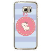 (スマホケース)山羊座 (クリア)/ for Galaxy S6 edge SC-04G/docomo (Coverfull)
