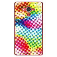 SECOND SKIN Code C Color dot クリア / for AQUOS EVER SH-04G/docomo DSH04G-PCCL-277-Y458