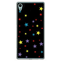 SECOND SKIN スター マルチ クリア / for Xperia Z4 402SO/SoftBank SSO402-PCCL-201-Y041