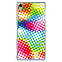 SECOND SKIN Code C Color dot クリア / for Xperia Z4 402SO/SoftBank SSO402-PCCL-277-Y458