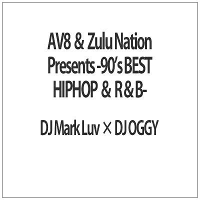 AV8 & ズールー・ネイション・プレゼンツ -90's・ベスト・ヒップホップ & R&B-/DVD/OGYDV-50