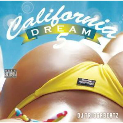 usedcalifornia dream vol.5 / dj triggabeatz audio cddj triggabeatz