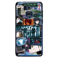 (スマホケース)PSYCHO-PASS サイコパス2シリーズ 場面写 (クリア)/ for Disney Mobile on docomo F-07E/docomo