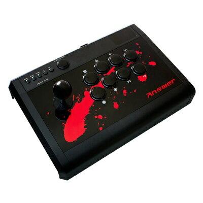 PS4/PS3用アーケードスティックPro アンサー ANS-PF054 PS4アーケードスティックプロ