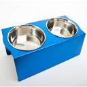 フードボウルテーブル Mサイズ ブルー(1コ入)