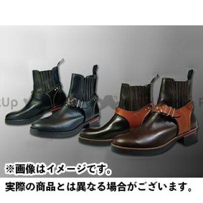カドヤ オンロードブーツ RIDE CHELSEA Leather Royal Kadoya ブーツ サイズ:27.5cm