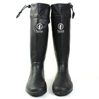 (FESTA(フェスタ)バードウォッチング 長靴 レインブーツ) ブラック SS(23.0cm)rain-007-bk-ss