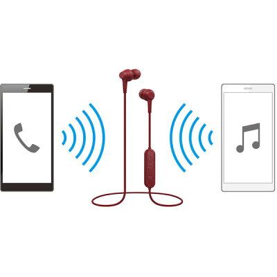 Pioneer Bluetooth ワイヤレス イヤホン SE-C4BT(R)