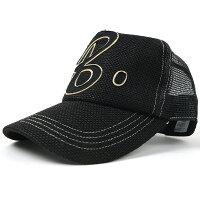 大きいサイズ/帽子/ガレージヘンプ ワッペンキャップBIGWATCHオールブラックビッグサイズ/ビッグワッチ