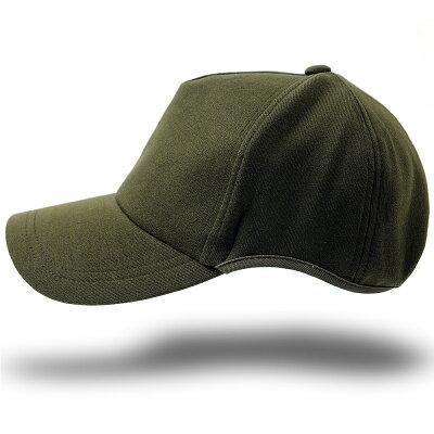 大きいサイズ/帽子/メンズ/無地 ラウンド スウェットキャップ BIGWATCH カーキ グリーンビッグサイズ