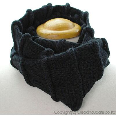 大きいサイズ/帽子/ヘンプロール スヌード BIGWATCHブラックネックウォーマーマフラー