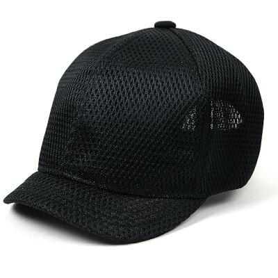 大きいサイズ/帽子/メンズ/メッシュ/アンパイアキャップ BIGWATCH 黒 C-09