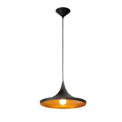 ペンダントライト led 1灯 ブラックベヴェル/BEVELLED/デザイン
