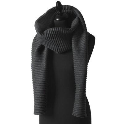 1DESIGN HOUSE Stockholm - Pleece Long scarf Black デザインハウスストックホルム プリース ロング ブラック