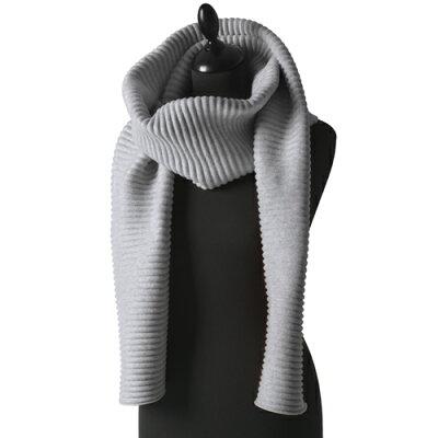 1DESIGN HOUSE Stockholm デザインハウスス トックホルム プリース マフラー ロング / ライトグレー Pleece Long scarf Light Gray